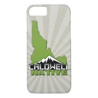 Caldwell Idaho Native Idahoan Hometown USA iPhone 8/7 Case