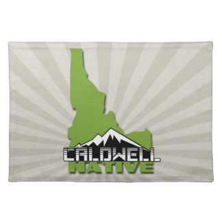 Caldwell Idaho Native Idahoan Hometown USA Placemat
