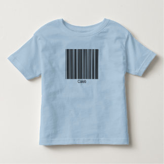 Caleb Personalized Functional Barcode Tee
