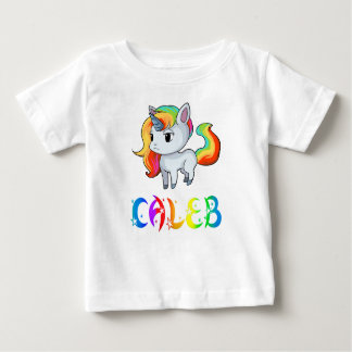 Caleb Unicorn Baby T-Shirt