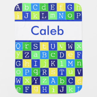 Caleb's Personalized Blanket