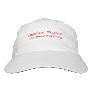 Caledonia, Minnesota The Heart of Quilt Country Hat
