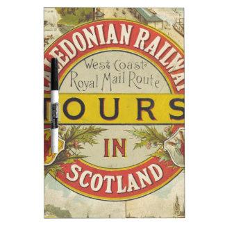 Caledonian Railway. Tours in Scotland. Dry Erase Whiteboards