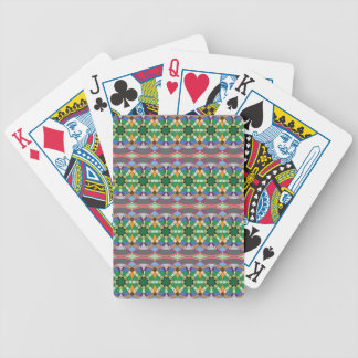 caledoscope four bicycle playing cards