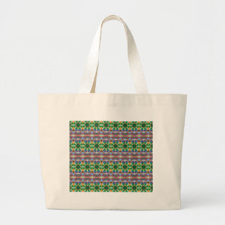 caledoscope four large tote bag