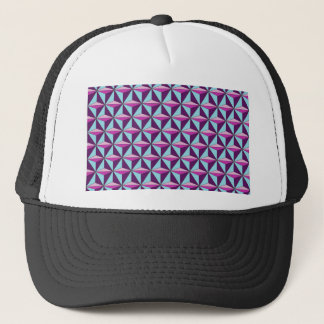 caledoscope three trucker hat