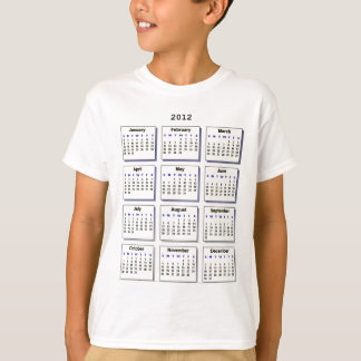 Calendar 2012 The MUSEUM Zazzle Gifts T-Shirt