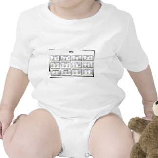 Calendar 2012 The MUSEUM Zazzle Gifts Rompers