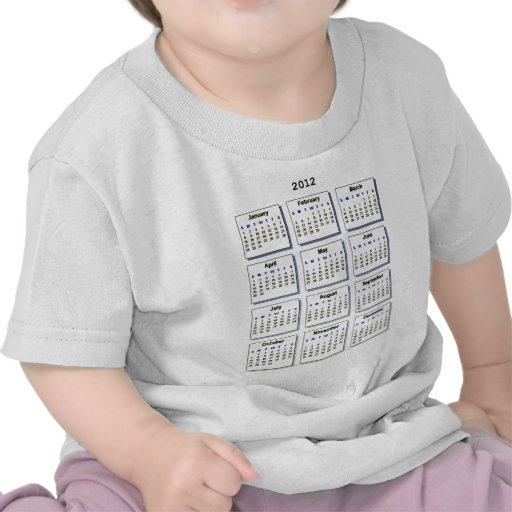 Calendar 2012 The MUSEUM Zazzle Gifts Tshirt