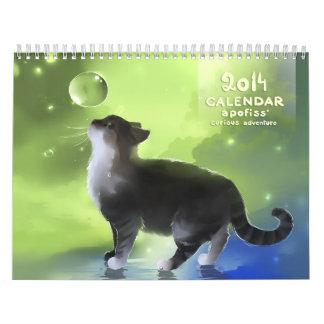 Calendar 2014 apofiss' curious adventure