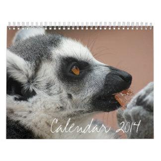 Calendar 2014 - Wild Animals