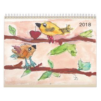 Calendar 2018 Medium size
