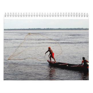Calendar, Amazon River Wall Calendars