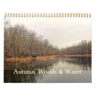 Calendar - Autumn Woods & Water