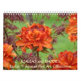 CALENDAR Azaleas Calendar Rhodies Rhodendrums