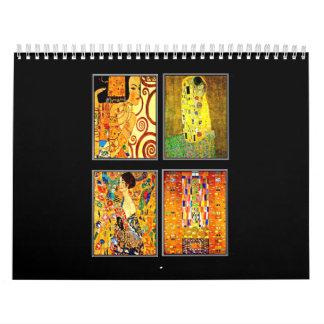 Calendar-Classic/Vintage-Gustav Klimt Wall Calendar