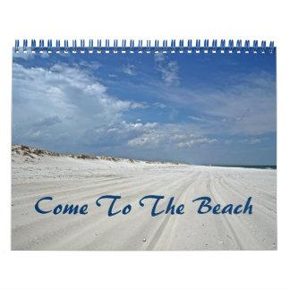Calendar - Come To The Beach