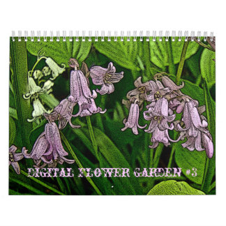 Calendar Digital Flower Garden #3