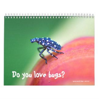 Calendar ~ Do You Love Bugs?