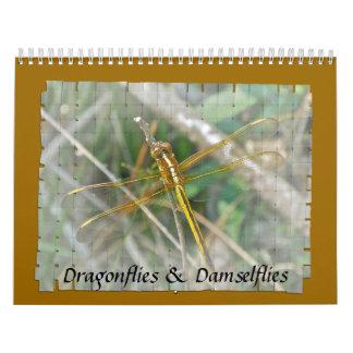 Calendar - Dragonflies & Damselflies