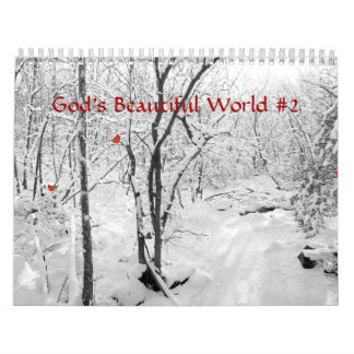 Calendar - God's Beautiful World #2