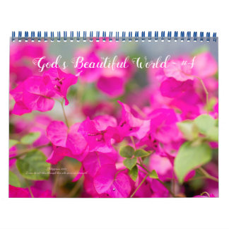 Calendar ~ God's Beautiful World #4