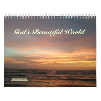Calendar - God's Beautiful World Calendar
