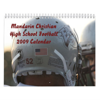 Calendar High School Football -Mandarin Christian