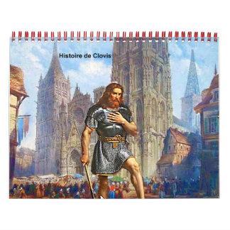Calendar histoire de Clovis