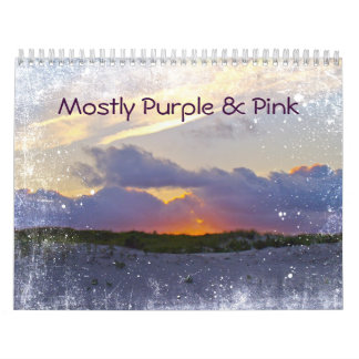 Calendar - Mostly Purple & Pink