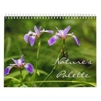 Calendar - Nature's Palette