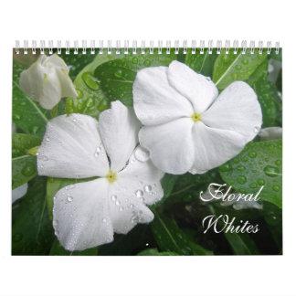 Calendar of Floral Whites