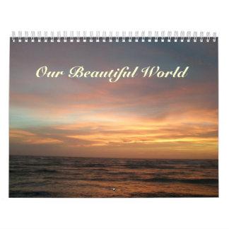Calendar - Our Beautiful World