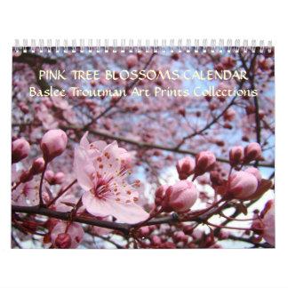 CALENDAR PINK TREE BLOSSOMS Calendar Spring