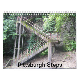 Calendar: Pittsburgh Steps Calendars