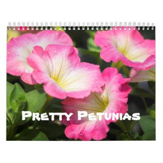 Calendar - Pretty Petunias