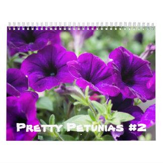 Calendar - Pretty Petunias #2