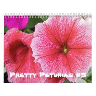 Calendar - Pretty Petunias #5