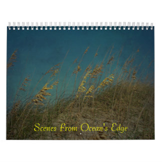 Calendar - Scenes From Ocean's Edge