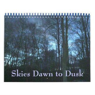 Calendar - Skies Dawn to Dusk