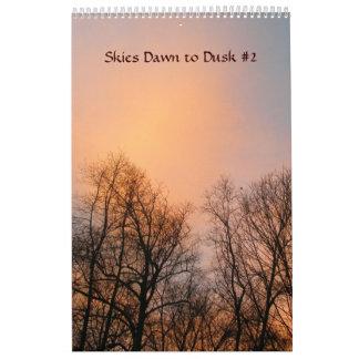 Calendar - Skies Dawn to Dusk #2