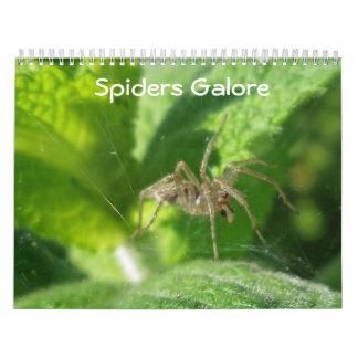 Calendar - Spiders Galore