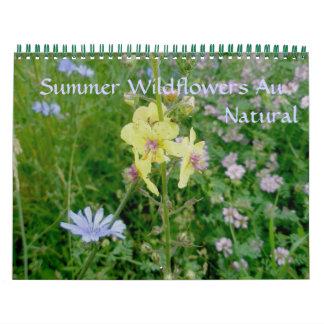 Calendar - Summer Wildflowers au Natural