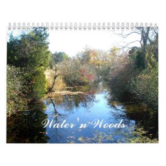 Calendar - Water 'n Woods