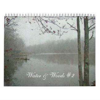 Calendar - Water & Woods #2