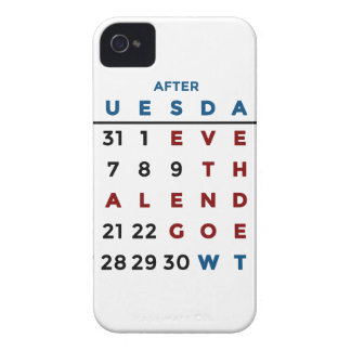 Calendar What The WTF Case-Mate iPhone 4 Cases