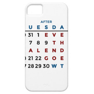 Calendar What The WTF iPhone 5 Case