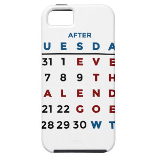 Calendar What The WTF iPhone 5 Cases