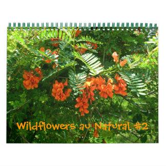 Calendar - Wildflowers au Natural #2