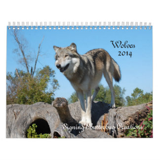 Calendar - Wolves - 2014